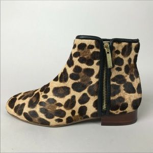 Louise Et Cie Calf Hair Leopard Yasmin Booties 6